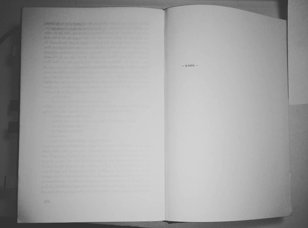 Ende lesen Roman finis Weiterlesen rarr