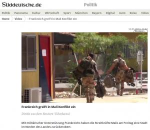 """""""Mali Konflikt"""""""