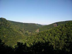 Ehrbachklamm: Blick vom Beuellay