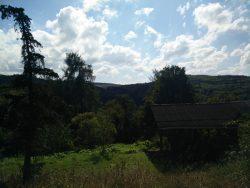 Ehrbachklamm: Ausblick bei Schöneck