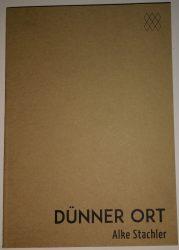 stachler, dünner ort (cover)
