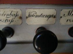 """zu einer echten orgel gehört auch ein """"noli me tangere"""""""