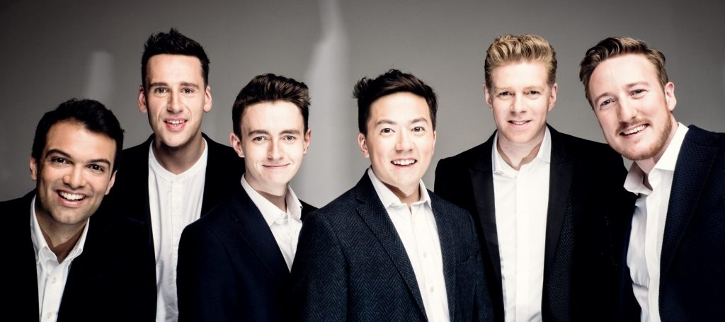 the king's singers (gruppenbild)