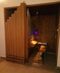unter-sensbach, orgelnische