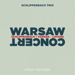 schlippenbach trio, warsaw concert (cover)