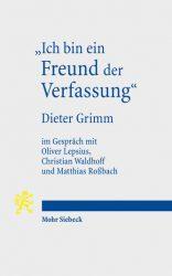 grimm, freund der verfassung (cover)