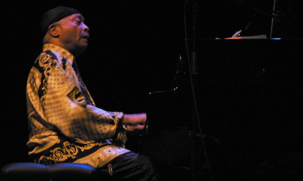 Cecil Taylor am Klavier