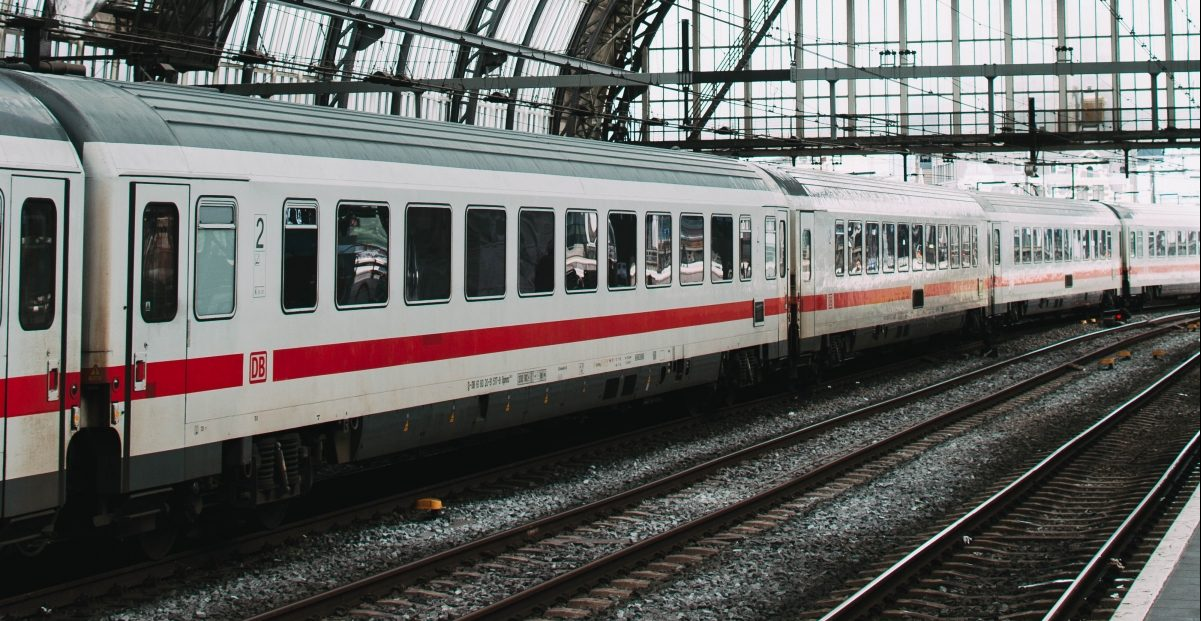 IC in Amsterdam, Central Station