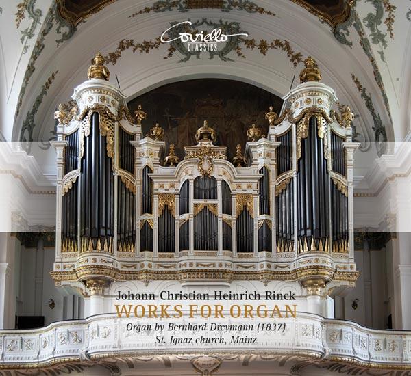 Rinck, Orgelwerke (Cover)