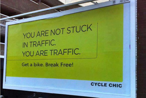 you are traffic